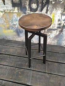 Барный стул GoodsMetall в стиле ЛОФТ 750х300х300 мм Дублин КОД: БС239