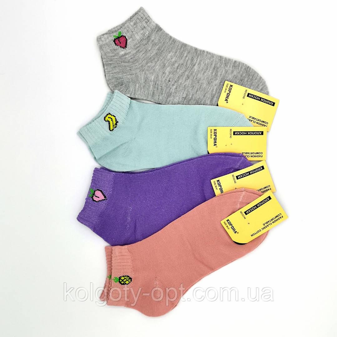 Носки с приколом Корона размер 31-35 короткі