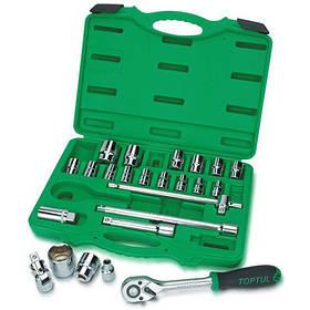 Набір інструменту головки з тріскачкою TOPTUL 1/2 24ед. GCAI2401 КОД: GCAI2401
