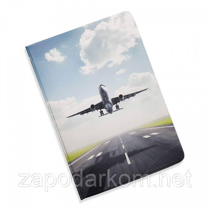 Обложка-органайзер  для документов 5 в 1 Самолет