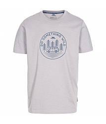 Мужская серая футболка Trespass MATOTSTR0017 Storm Grey Marl