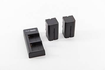 Аккумуляторы/батареи SoulMate 4400мАч (2шт.) с зарядным устройством, для кольцевых светодиодных ламп