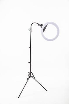 Профессиональная кольцевая LED-лампа Lumerty (35см - 35w) на штативе