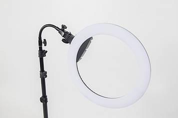 Кольцевая  LED лампа Lumerty Premium-класса (45см - 75w) на штативе