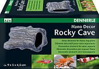 Декорация для мини-аквариума Dennerle Nano Decor Rocky Cave, 9,0 х 5,0 х 4,5 см