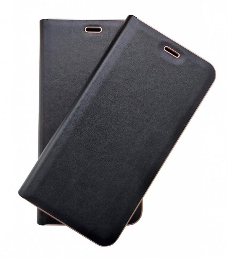 Кожаный чехол-книжка для Samsung Galaxy A31 A315 чёрная Florence TOP №2