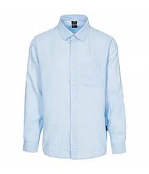 Мужская голубая рубашка Trespass MATOSBTR0005 Pale Blue