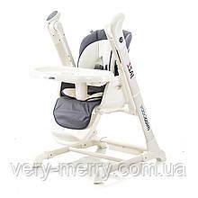 Дитячий стільчик-гойдалка Mioobaby Jazz - Grey