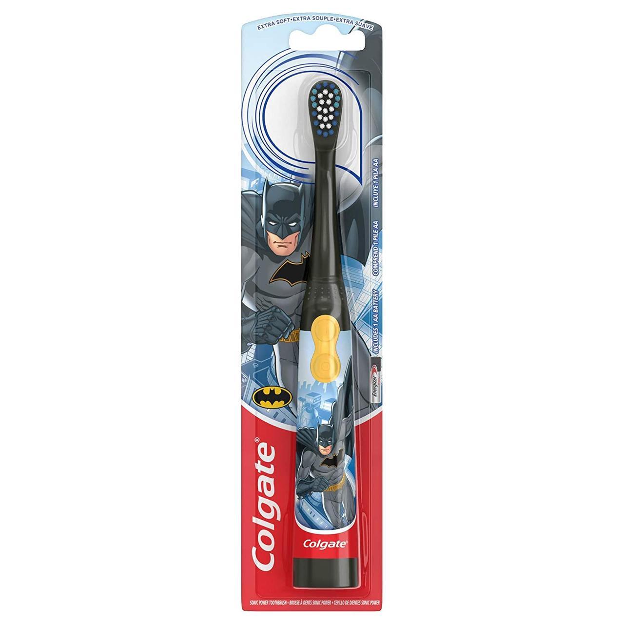 Детская электрическая зубная щётка Colgate Бэтмен