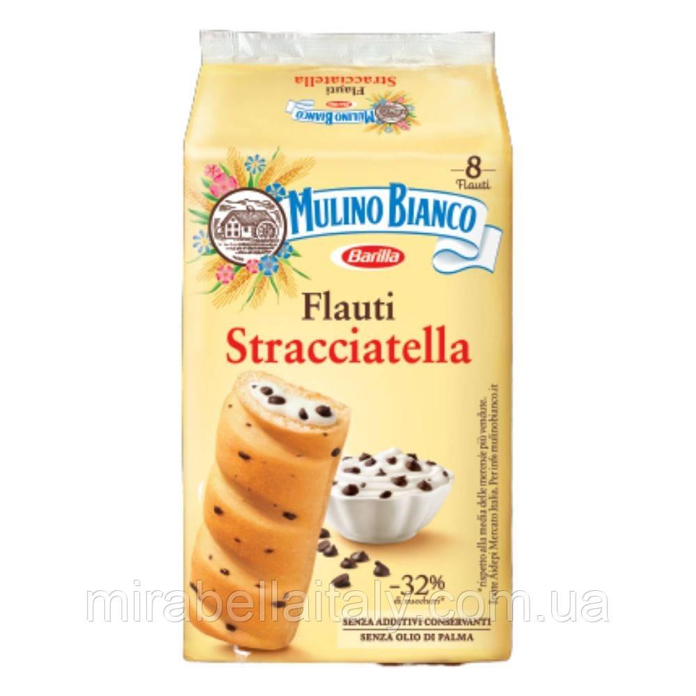 Mulino Bianco Flauti Stracciatella бисквиты
