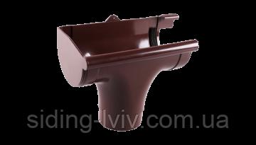 Лійка права ринва Profil водосточна система 90/75  мм