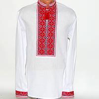 Вышитая рубашка с украинским узором для мужчин