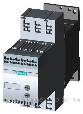 3RW3016-1BB04 устройство плавного пуска 4 кВт плавный пуск 9А Siemens