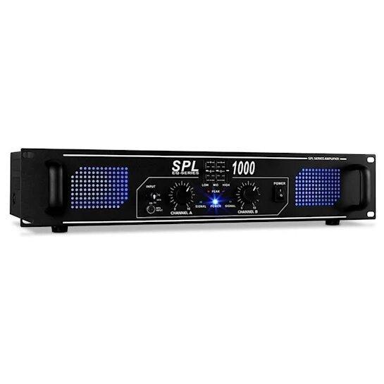 Усилитель звукаусилок PA SPL-1000-EQ