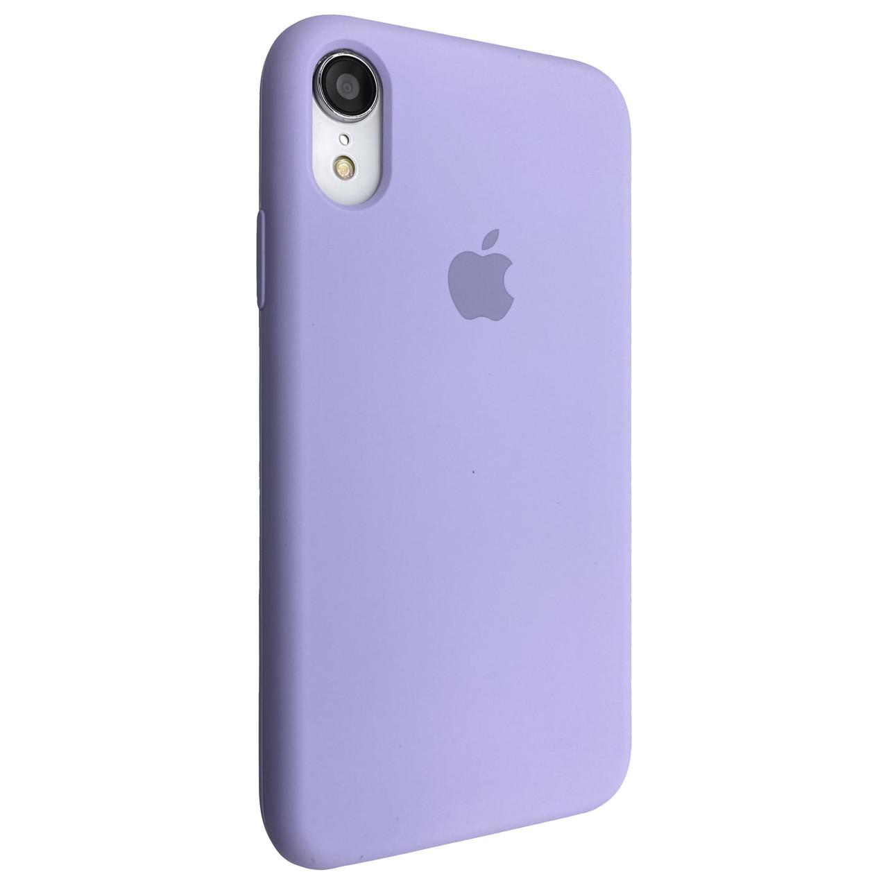 Чехол-накладка Silicone Case для Apple iPhone XR (Viola)