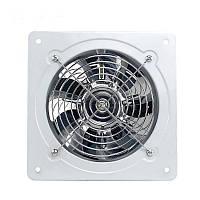 Вентилятор вытяжной 150 мм осевой металлический с обратным клапаном VENUS VVM 150 К