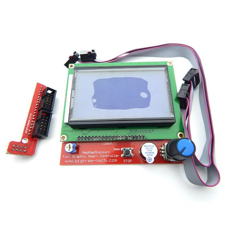 Контроллер 3D-принтера RAMPS 1.4 LCD 12864 (Панель управления)