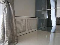 Деревянные декоративные  экраны, короба , решетки на батареи отопления, фото 1