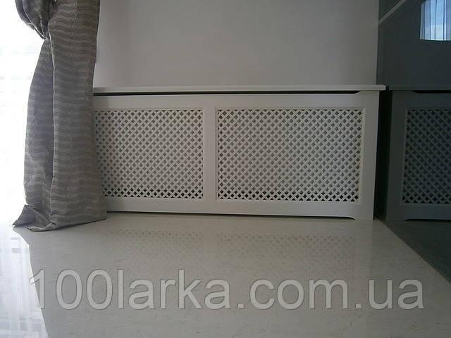 Деревянные декоративные  экраны, короба , решетки на батареи отопления РР1-К