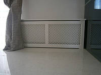 Деревянные декоративные  экраны, короба , решетки на батареи отопления РР1-К, фото 1
