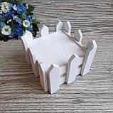 Декоративний парканчик квадратний., фото 2
