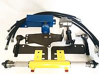 Комплект переоборудования ЮМЗ с двухсторонним цилиндром (с гидробаком) | переделка на насос дозатор