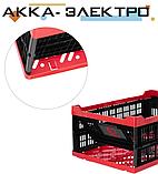Ящик складной, пластиковый, загрузка 30 кг, 47 л., 600*400*260 мм, фото 2