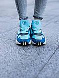 Женские кроссовки Adidas Falcon blue (Реплика ААА), фото 3