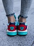 Женские кроссовки Adidas Falcon blue (Реплика ААА), фото 6