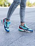 Женские кроссовки Adidas Falcon blue (Реплика ААА), фото 5