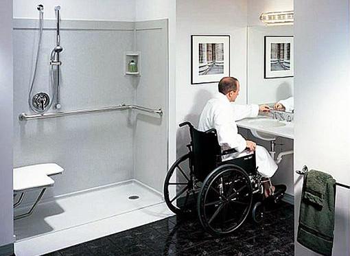 Инвалидные поручни разных типов - цена и доставка