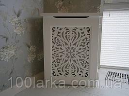 Экран (решетка) короб на радиатор отопления №1А