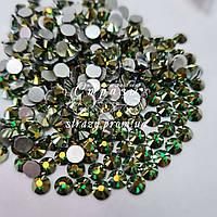 Стрази Lux ss20 Emerald AB (5.0 mm) 100шт
