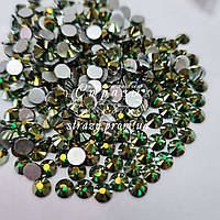 Стрази Lux ss16 Emerald AB (4.0 mm) 100шт