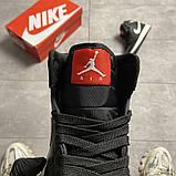 Жіночі кросівки Nike Air Jordan 1 SE Black, фото 2