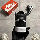 Жіночі кросівки Nike Air Jordan 1 SE Black, фото 3