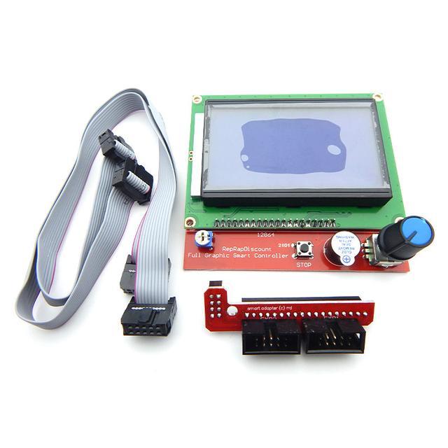 Контроллер 3D-принтера RAMPS1.4 LCD 12864 (Панель управления)