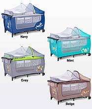 Дитяче ліжко манеж Caretero Grande Plus