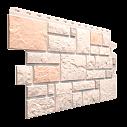 Фасадна панель Dockе камінь Колекція BURG ПЕСЧАНЫЙ 1,072*0,472 цокольний сайдинг