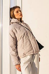 Молодіжна коротка куртка з капюшоном розмір 42,44,46