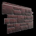 Фасадна панель Dockе колекція BURG Темний, цокольний сайдинг