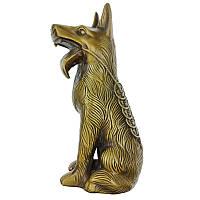Статуетка собака 19х7х9 см бронзова (C2588)
