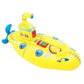 BW Плотик 41098 (8шт) жовта човен, 165-86см, ремкомплект, в кор-ке, 24-23,5-7,5 см