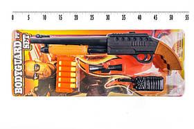 Вангард ПФ іграшковий пістолет з п'ятьма м'якими кулями, чохлом, оптикою і іграшковою гранатою