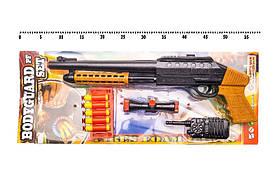 Бодігард ПФ з м'якими кулями і оптикою, рацією, гранатою і ножем