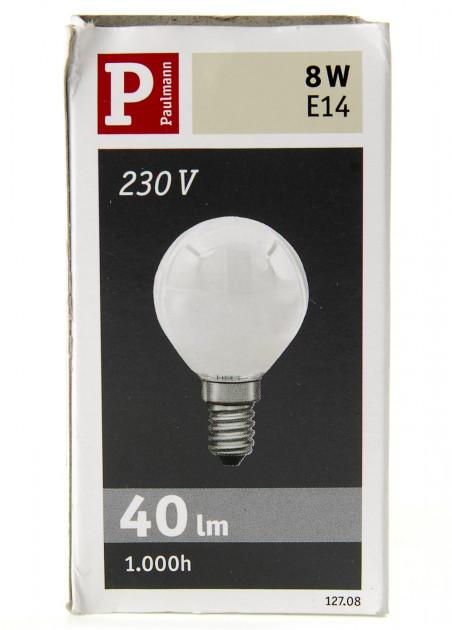 Галогенна лампа Paulmann E14 8W