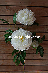 Искусственные цветы - Пион ветка, 102 см
