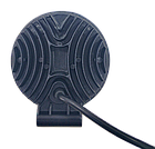 LED фара круглая 27W, 9 ламп, широкий луч 10/30V 6000K, фото 5
