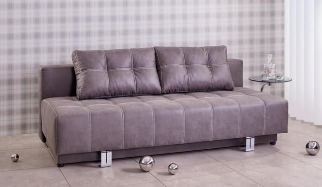Диван раскладной Омега мех., трансформации Еврокнижка. Габаритные размеры диван: 202х89х98 см.  Габаритные размеры спальное место: 205х145 см.