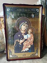 Большая православная икона Пресвятой Богородицы 120х80см